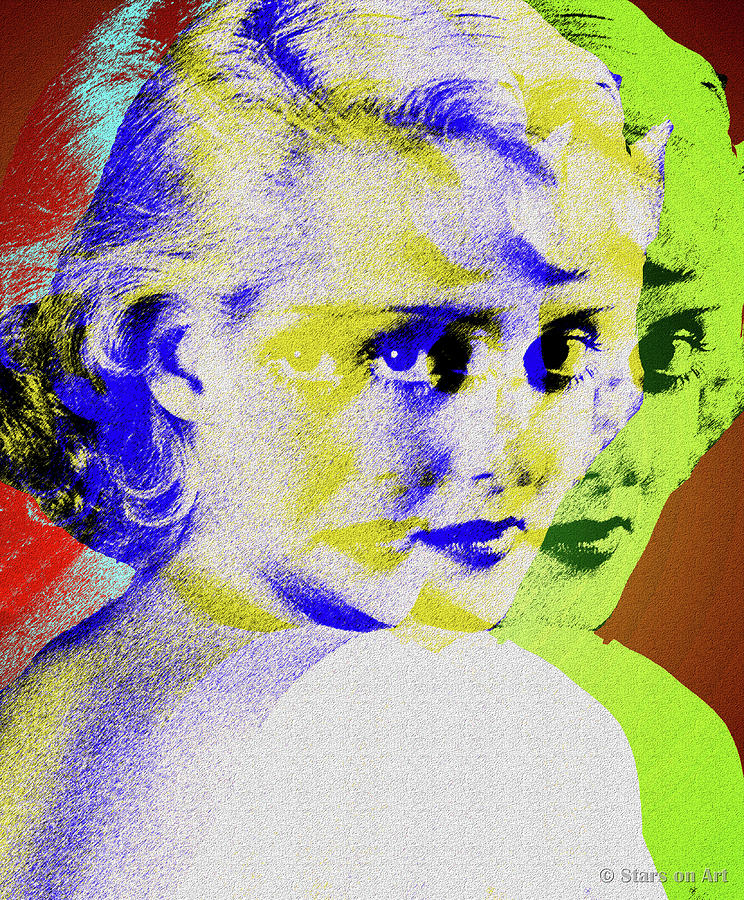 Bette Digital Art - Bette Davis by Stars on Art