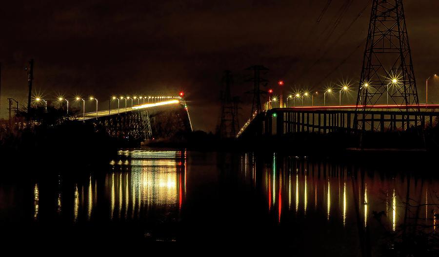 Between The Bridges Photograph
