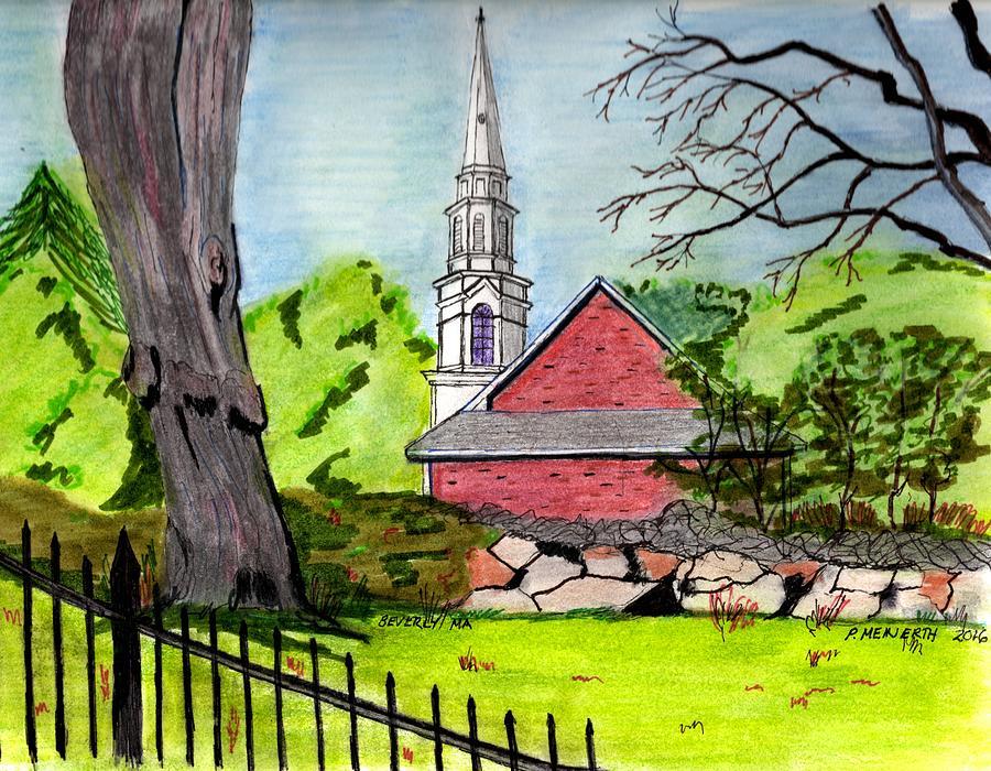 Beverly Massachusetts Drawing