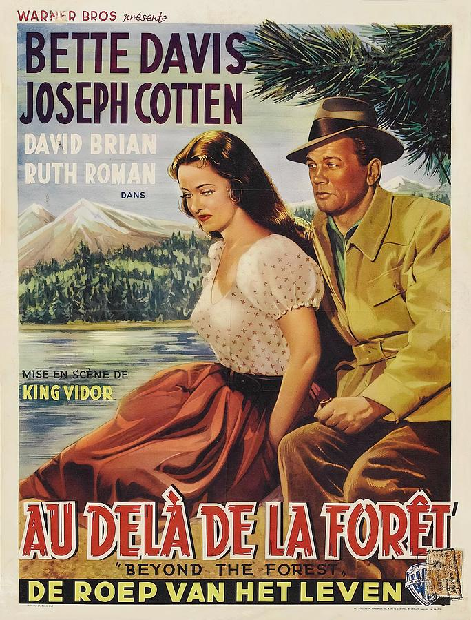 beyond The Forest, With Bette Davis And Joseph Cotten, 1949 Mixed Media