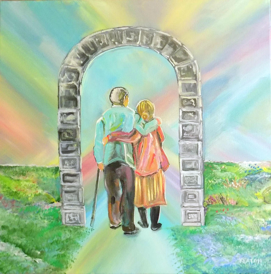 Beyond The Gate Painting