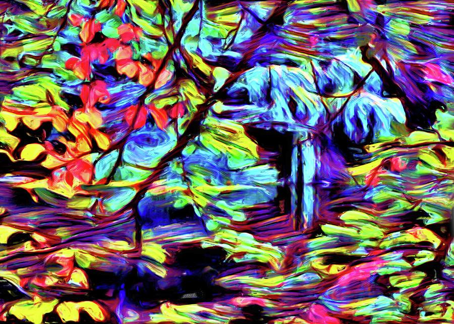 Beyond The Lake Digital Art