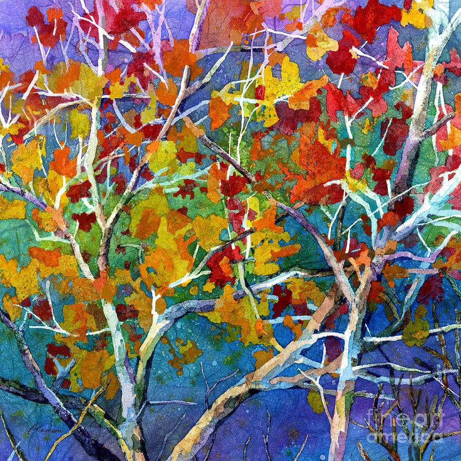 Beyond The Woods - Orange Painting