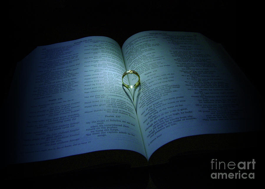 Bible Photograph by Ross Coleman