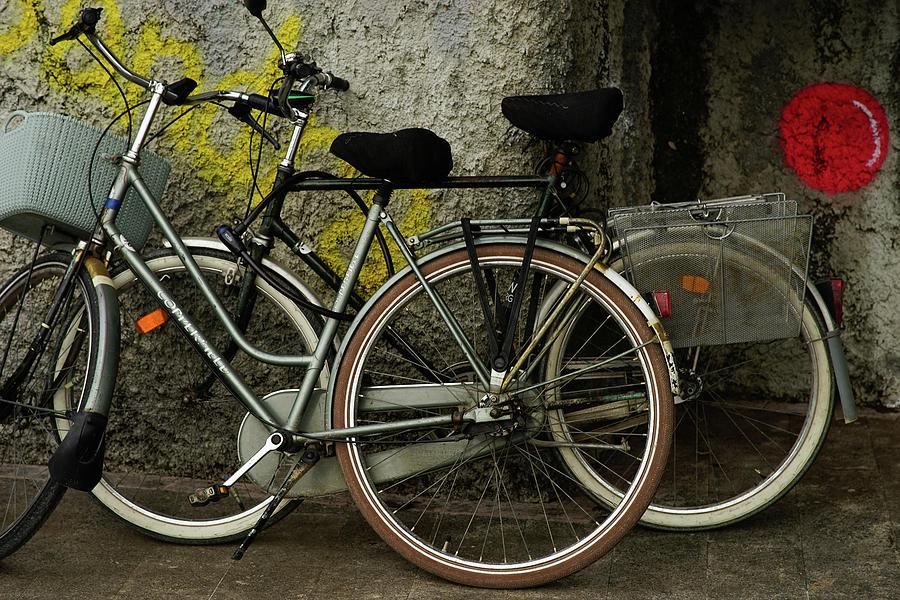 Bicycles Photograph by Kirill Pervykh