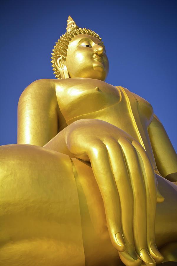 Abstract Photograph - Big Buddha  by Apatsara Sirirodchanapanya