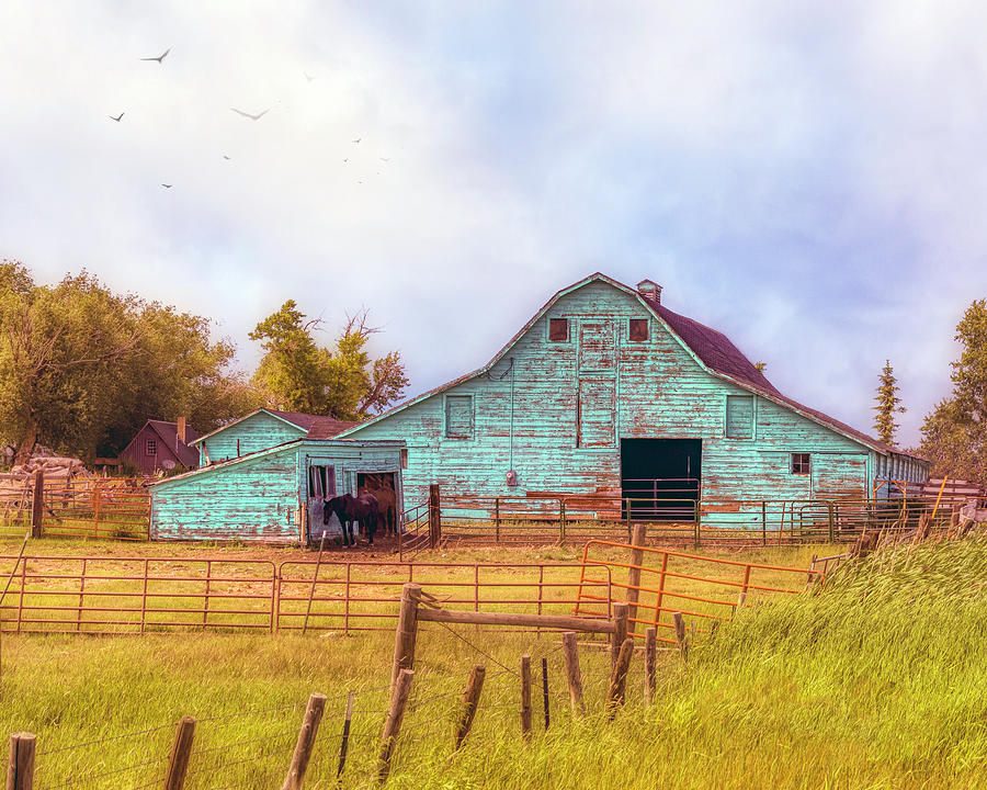 Big Green Barn by William Havle