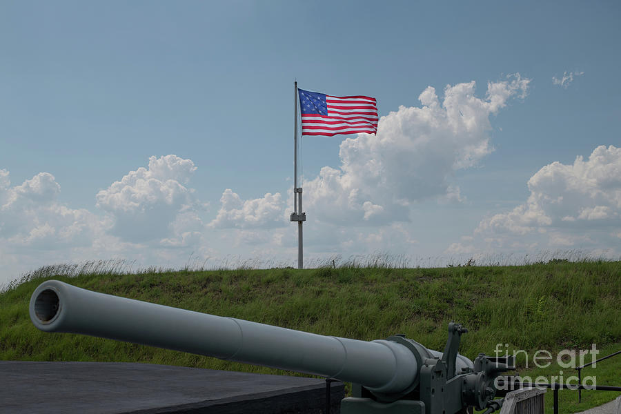 Big Gun - Old Glory Photograph