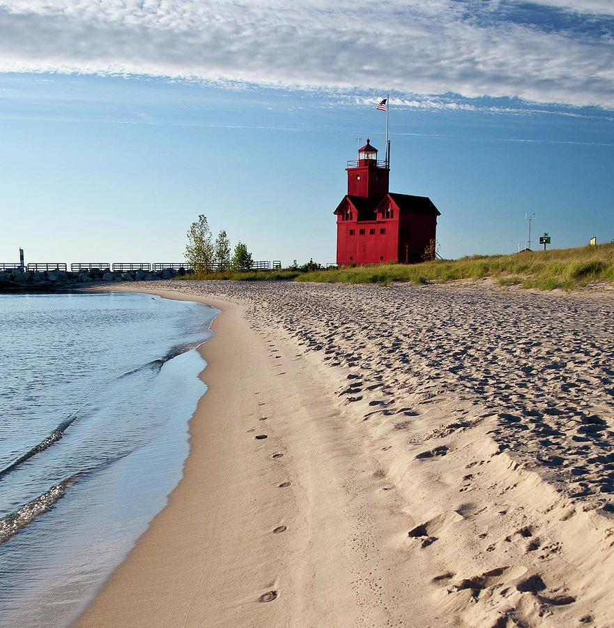 Beach Photograph - Big Red 2 by Mark Braun
