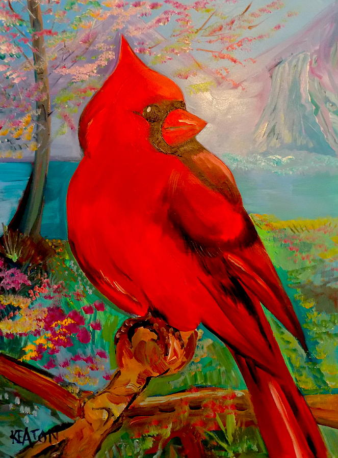 Big Red Painting