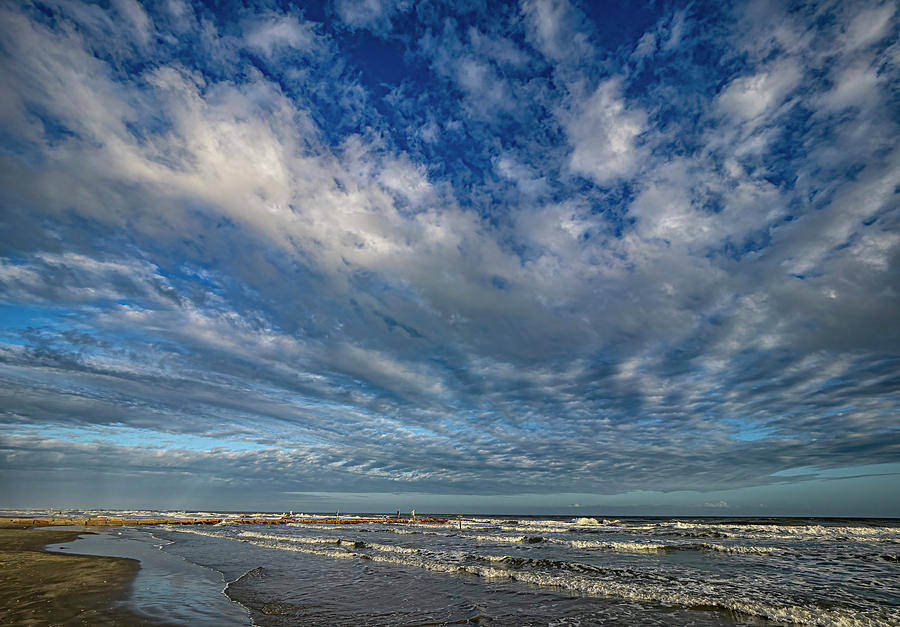 Big Sky Galveston Photograph