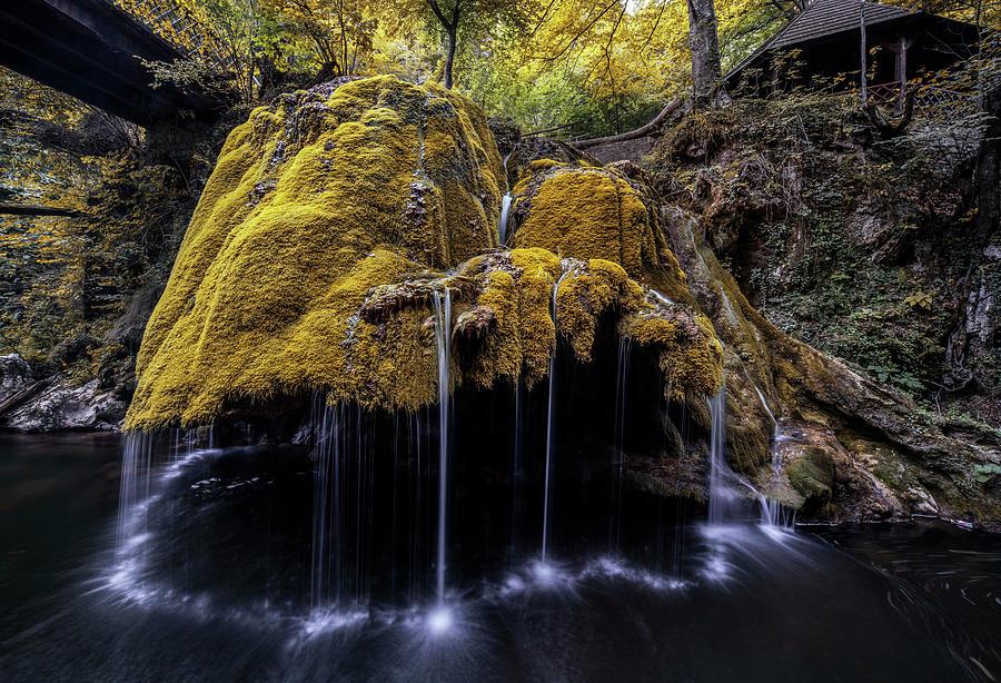 Bigar Waterfall by Jaroslaw Blaminsky