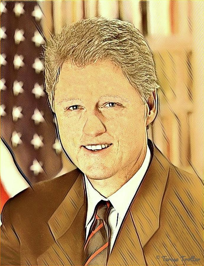 Bill Clinton Digital Art