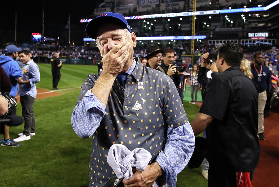 Bill Murray Photograph by Ezra Shaw