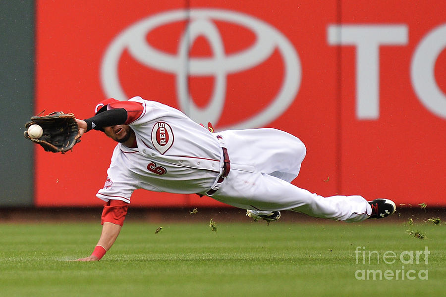 Billy Hamilton and Starling Marte Photograph by Jamie Sabau