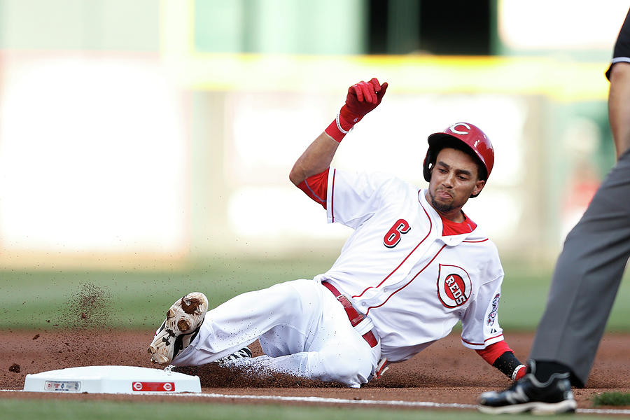 Billy Hamilton Photograph by Joe Robbins