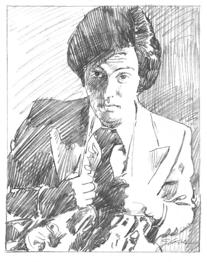 Billy Joel Study Sketch Painting