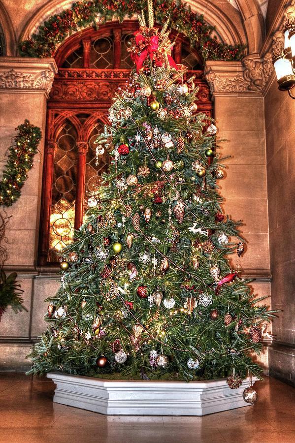 BIltmore Christmas Tree All Decked Out by Carol Montoya