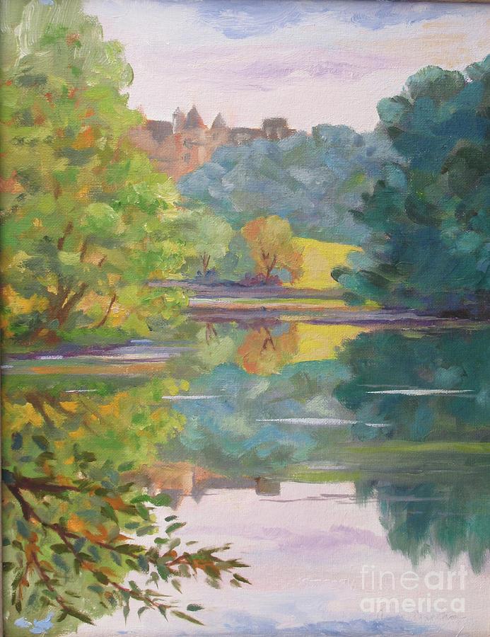 Biltmore Lagoon 3 by Anne Marie Brown