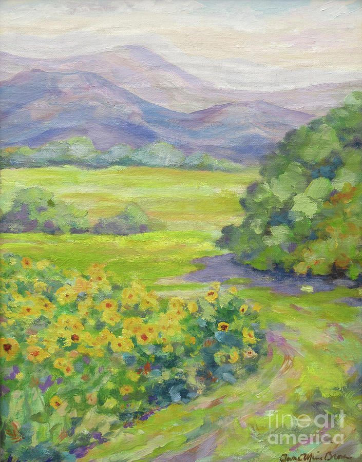 Biltmore Sunflowers by Anne Marie Brown