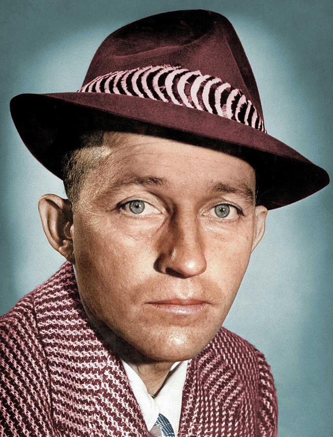 Bing Crosby Colorized Photograph