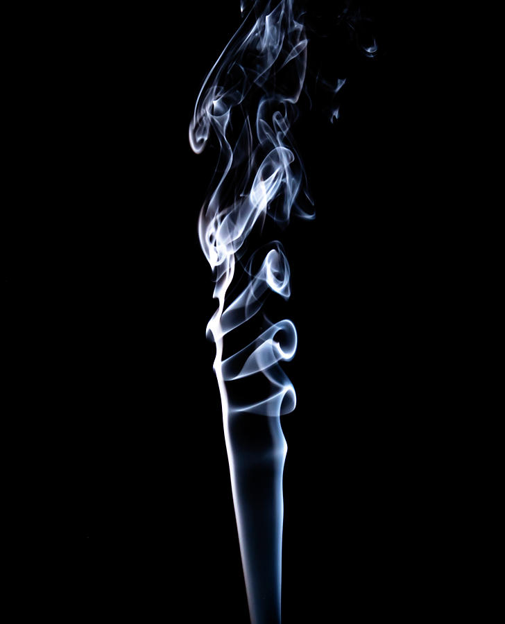 Smoke Photograph - Bird Of Prey by Peyton Vaughn