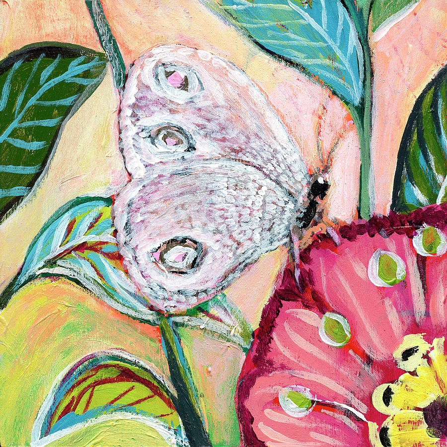 Birds And Butterflies No 14 Painting