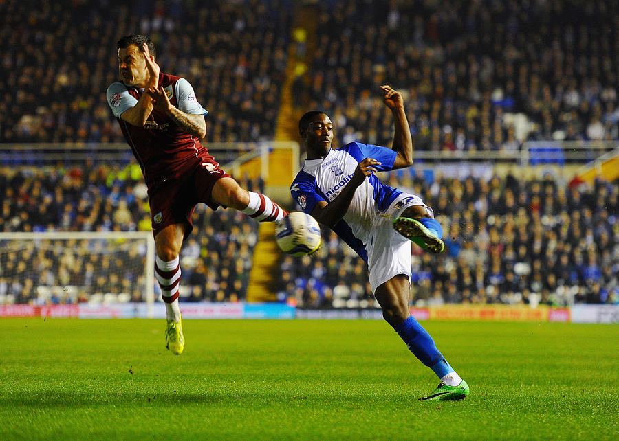 Birmingham City v Burnley - Sky Bet Championship Photograph by Laurence Griffiths