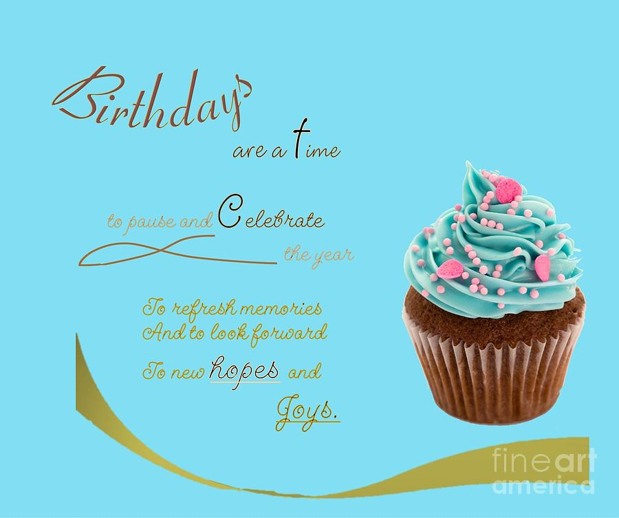 Birthday Celebration Mixed Media
