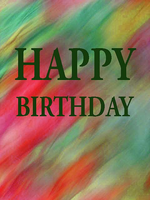 Birthday Digital Art - Birthday red and green silk by Corinne Carroll
