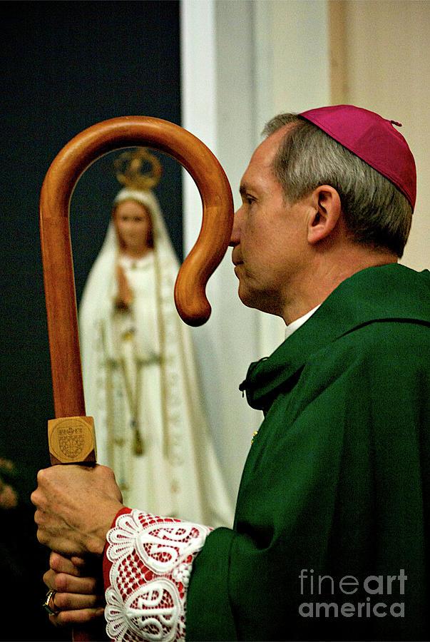 Bishop In Prayer Photograph