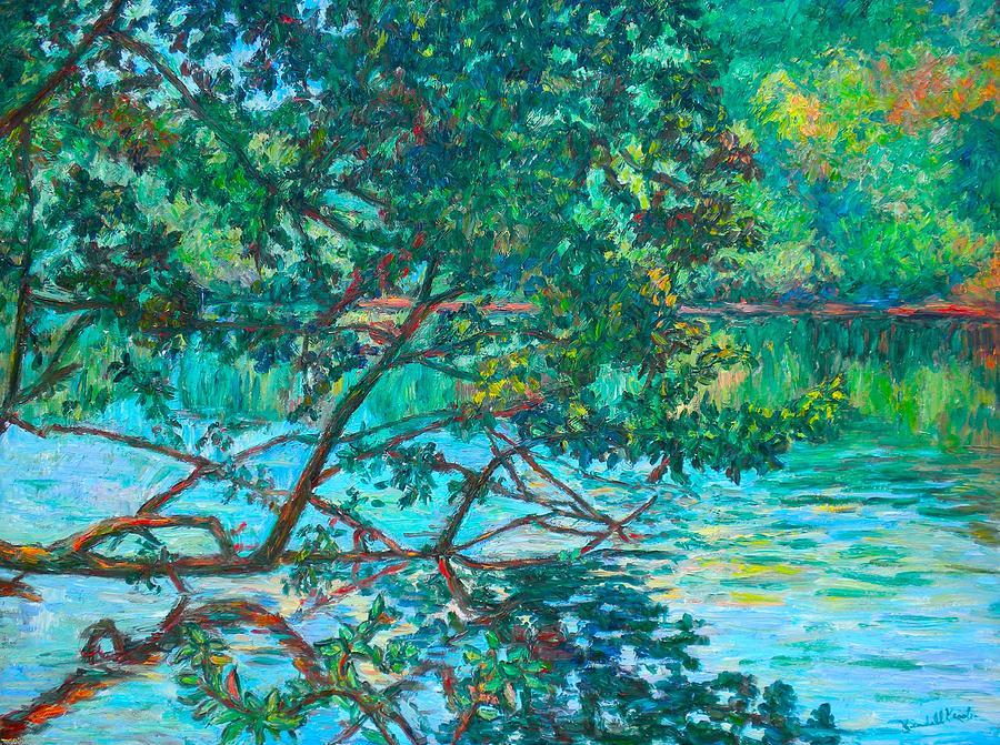 Landscape Painting - Bisset Park by Kendall Kessler