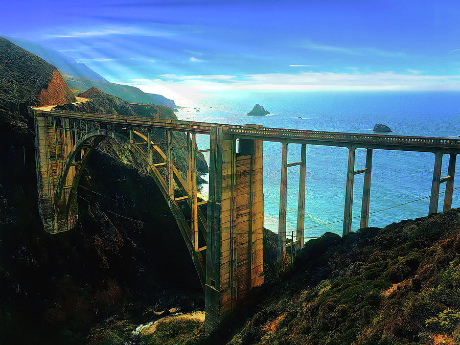 Bixby Bridge Big Sur - 2 Photograph