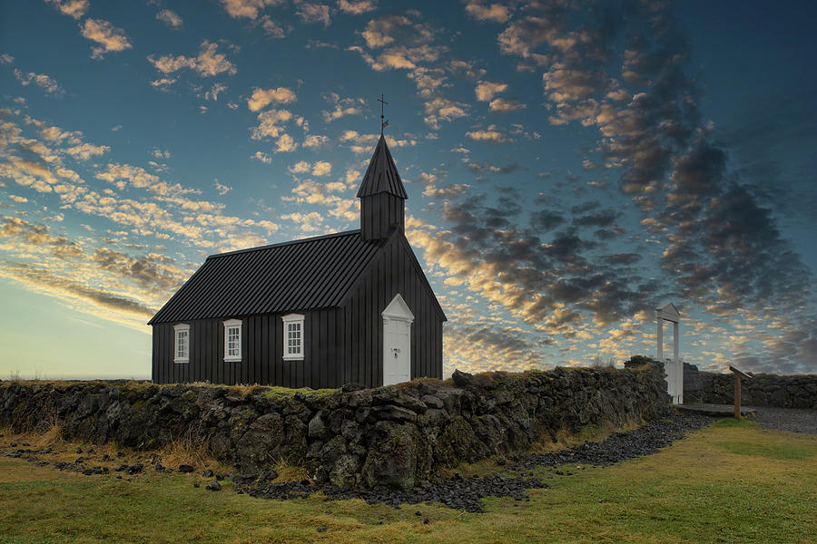 Blach Church Sunrise Photograph