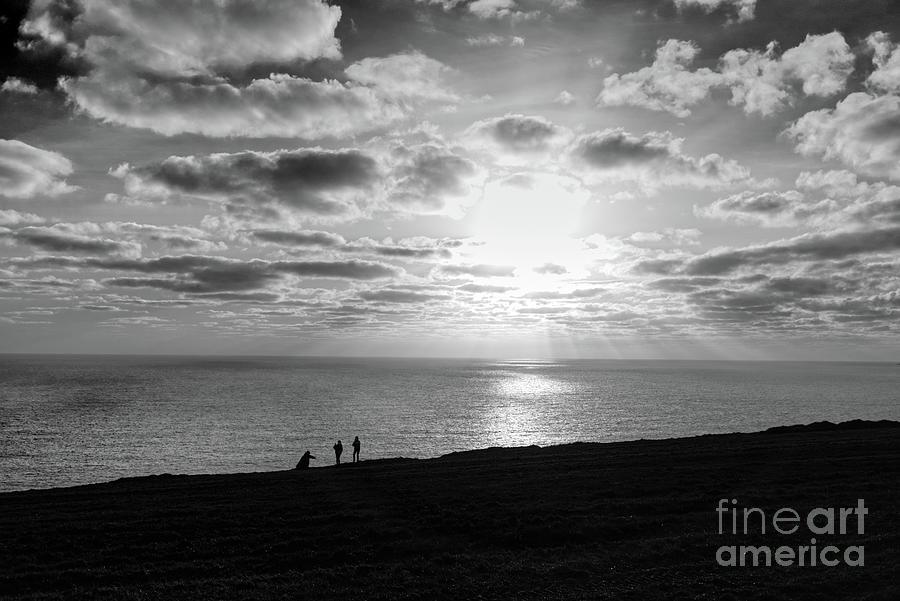 Black and White Panorama Sunset by Lidija Ivanek - SiLa