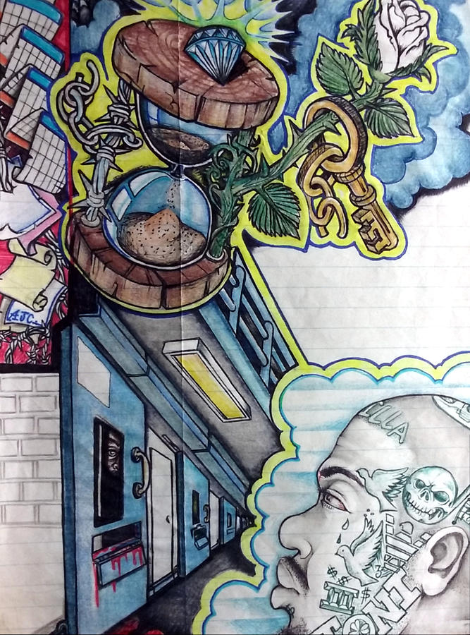 black art, african american art, prison art, prison art gallery, prison art for sale, jail UiCitize, by Arnold Citizen aka Musafir