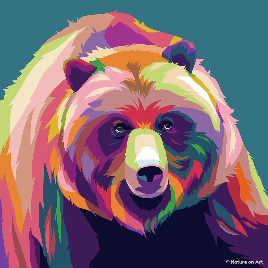 Black Bear Digital Art