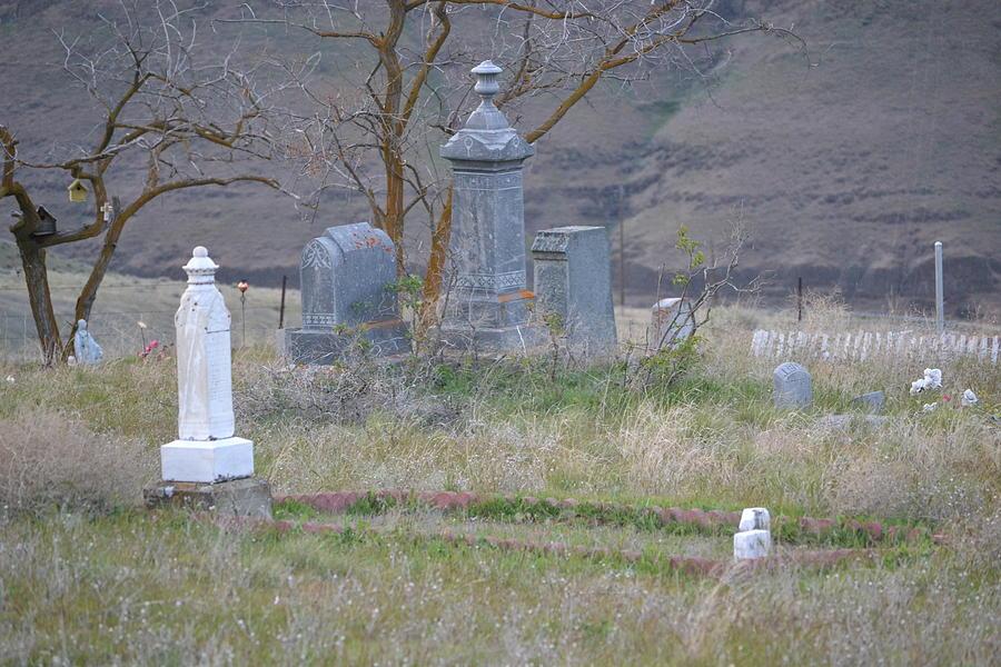 Graveyard Photograph - Black Bishop to Kings Rook  by YHWHY Vance