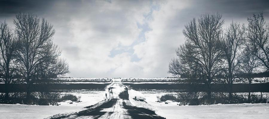 Desolate Digital Art - Black Friday by Mike Braun