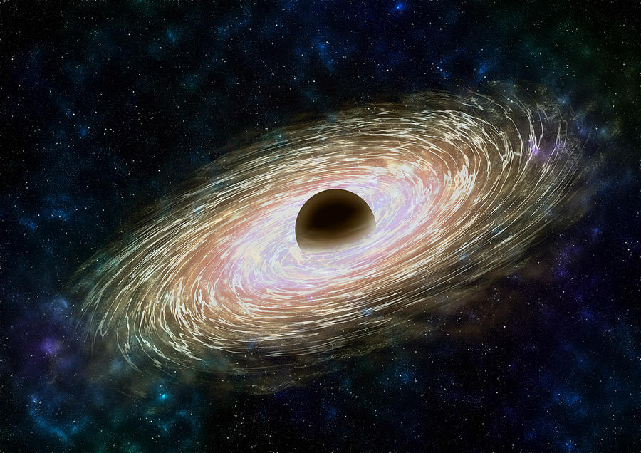 Black hole 01 Photograph by Daniel Rocal - PHOTOGRAPHY