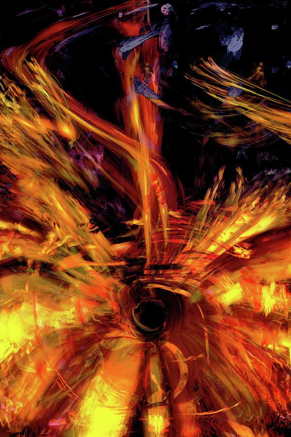 Black Hole by Linda Sannuti