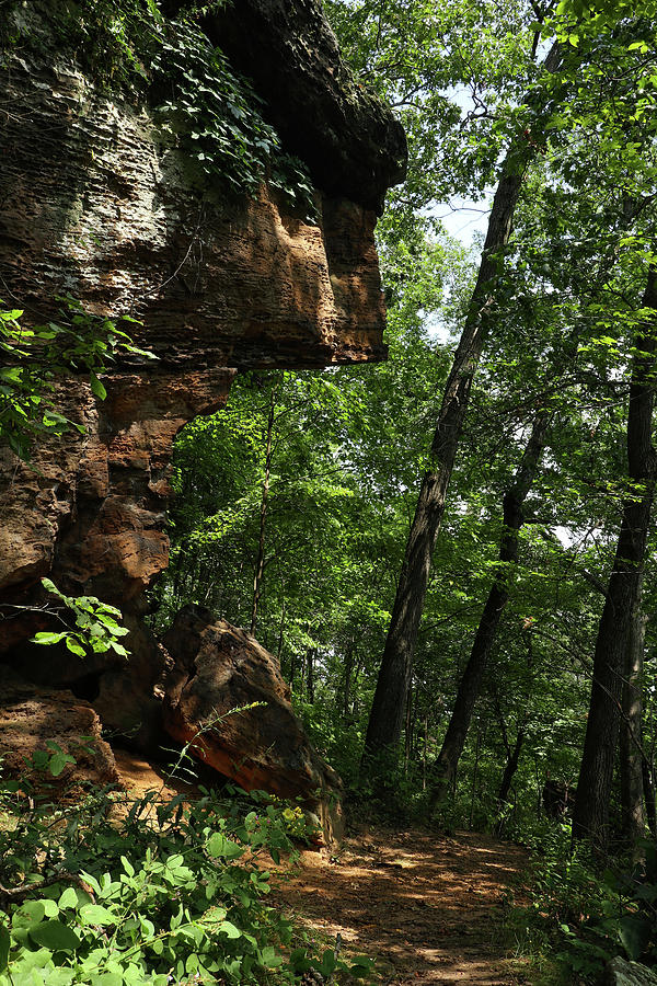 Black Rock Promontory Photograph