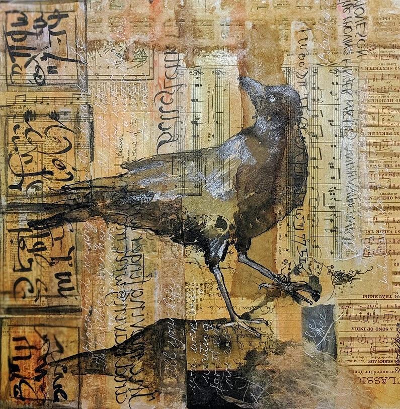 Blackbird Turning by Jillian Goldberg