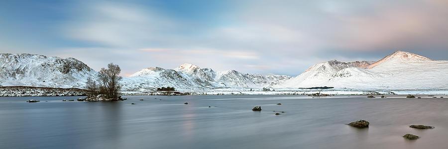 Glencoe Photograph - Blackmount Sunrise - Glencoe by Grant Glendinning
