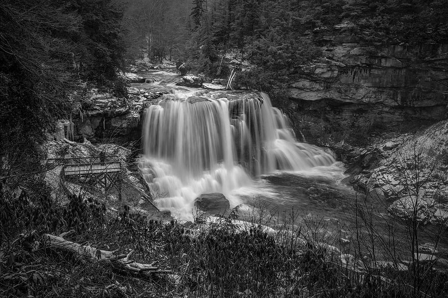 Blackwater Falls BW 1 by Robert Fawcett