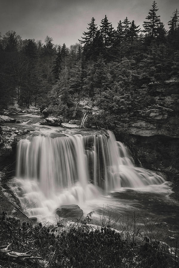 Blackwater Falls BW 2 by Robert Fawcett