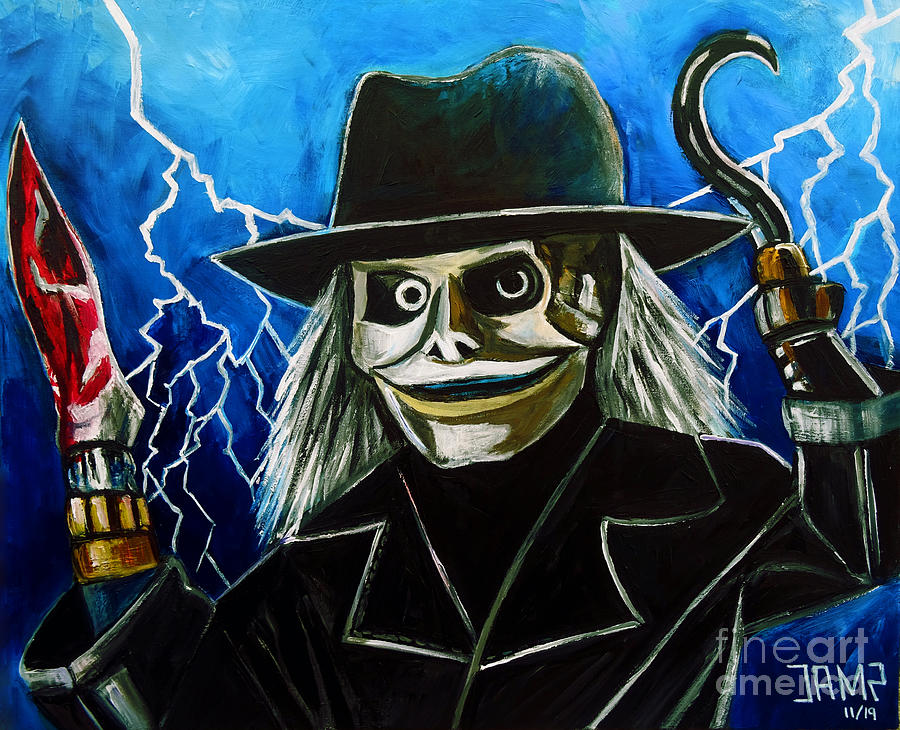 Blade Painting - Blade Puppet Master by Jose Mendez