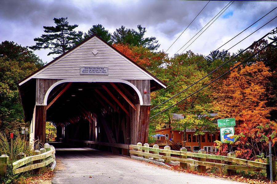 Blair Bridge and Farm to Table Restaurant by Jeff Folger