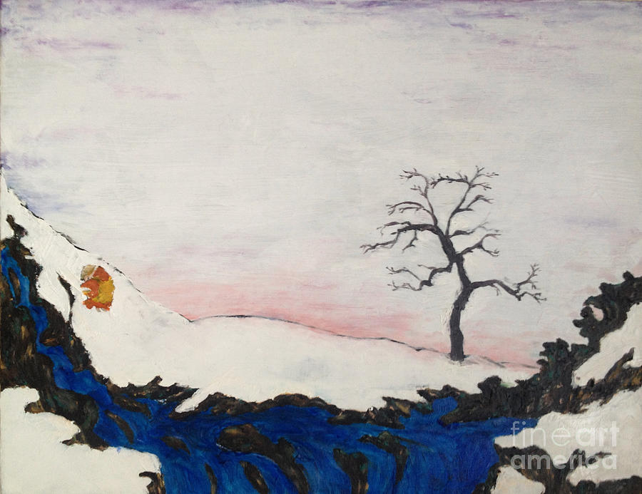 Beautiful Painting - Bleak Midwinter and the Buddhist Tree of Life by Sawako Utsumi
