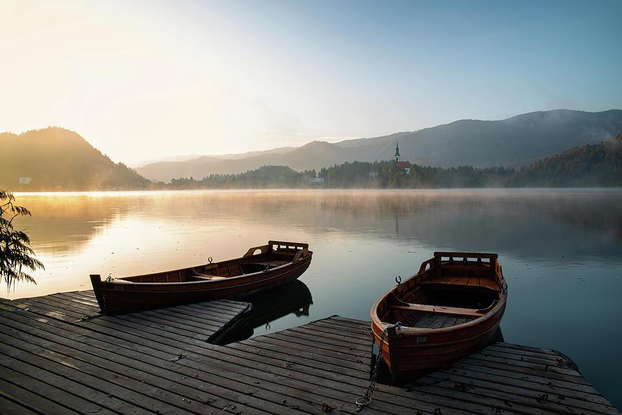 Bled lake  by Yuri San